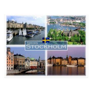 Cartão Postal Suecia Éstocolmo do SE -