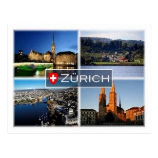Cartão Postal Suiça do CH - Zurique -