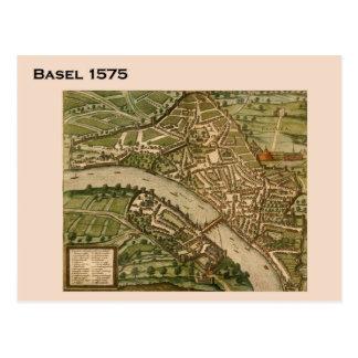 Cartão Postal Suiça histórica, Basileia 1575