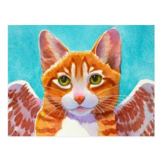 Cartão Postal Suiças, gato do anjo