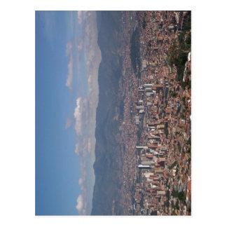 Cartão Postal Sumario Descrição Panoramica de Medell? n, Colomb
