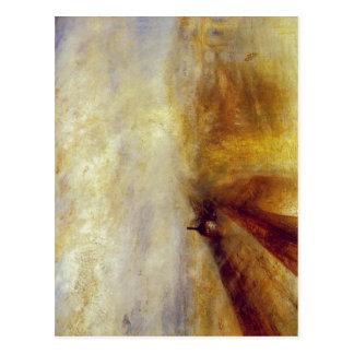 Cartão Postal Sumario J.M.W. Turner - chuva, vapor e velocidade