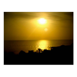 Cartão Postal Sun obscuro