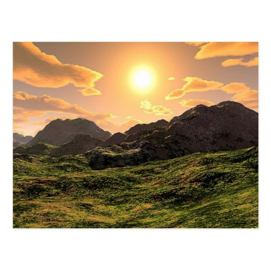Cartão Postal Sunset