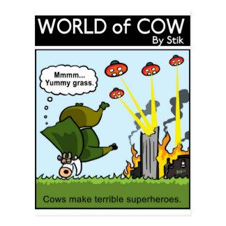 Cartão Postal Super-herói maus