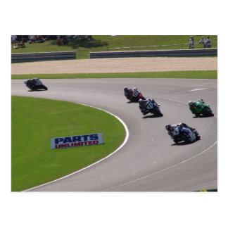 Cartão Postal Superbike de AMA