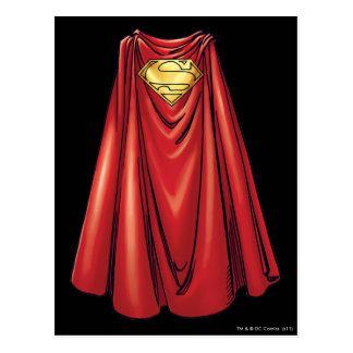 Cartão Postal Superman - o cabo