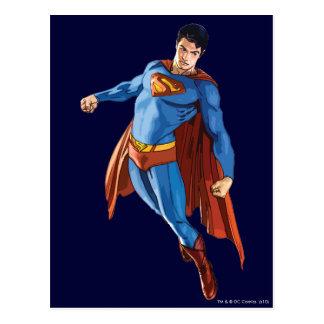 Cartão Postal Superman que olha para baixo
