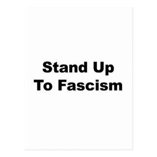 Cartão Postal Suporte até o fascismo