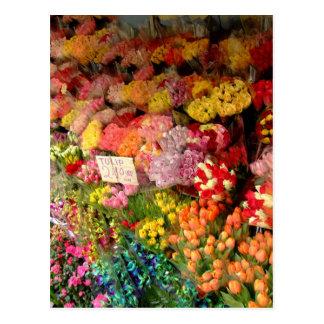 Cartão Postal Suporte de flor