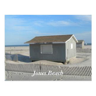 Cartão Postal Suporte de guarda-chuva da praia de Jones