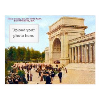 Cartão Postal Suporte de música 2