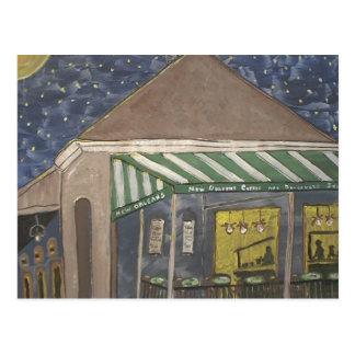 Cartão Postal Suporte do café de Nova Orleães