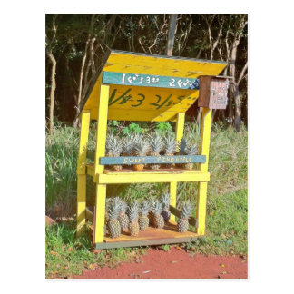 Cartão Postal Suporte doce do abacaxi de Maui