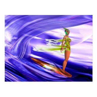 Cartão Postal Surf 3 FLATf F