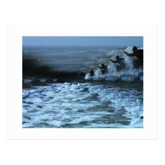 Cartão Postal Surf acima de 2