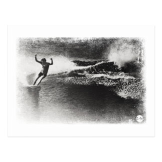 Cartão Postal surfar retro