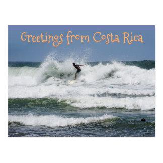 Cartão Postal Surfista Costa Rica (customizável)