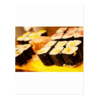 Cartão Postal Sushi.