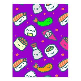 Cartão Postal Sushi Moki