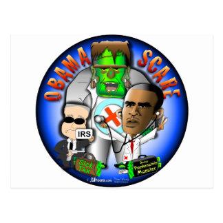 Cartão Postal Susto de Obama