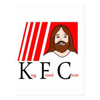 CARTÃO POSTAL T DO CRISTO DE KFC