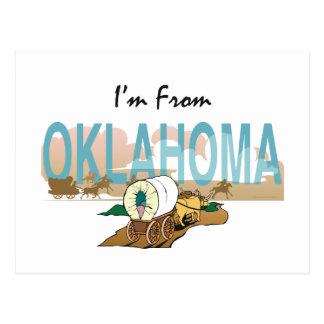 Cartão Postal T eu sou de Oklahoma