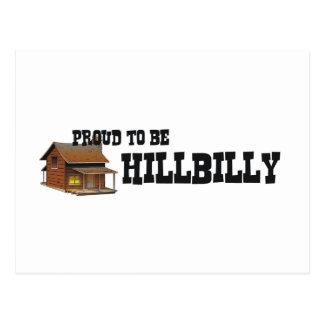 Cartão Postal T orgulhoso ser Hillbilly