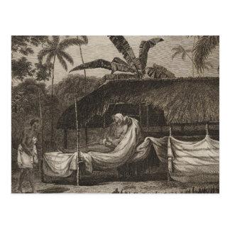 Cartão Postal T principal, Otaheite, Tahiti