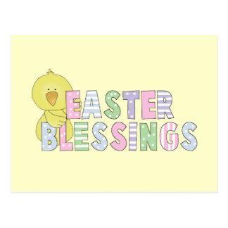 Cartão Postal T-shirt e presentes das bênçãos da páscoa