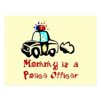 Cartão Postal T-shirt e presentes do agente da polícia das