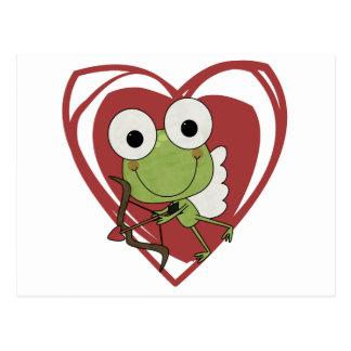 Cartão Postal T-shirt e presentes dos namorados do Cupido do