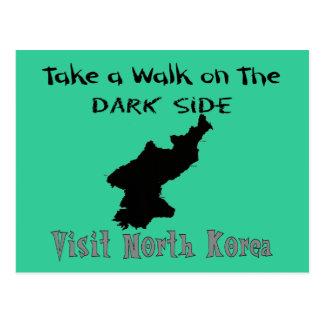 Cartão Postal T-shirt e presentes engraçados da Coreia do Norte