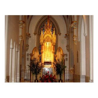 Cartão Postal Tabernáculo da catedral de St Joseph