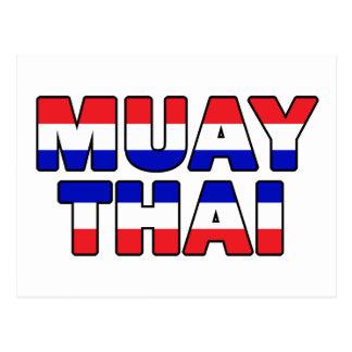 Cartão Postal Tailandês de Muay