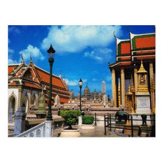 Cartão Postal Tailândia, Banguecoque dentro de Wat Phra Keo
