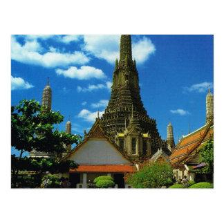 Cartão Postal Tailândia, Banguecoque, grande pagode, Temple of
