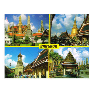Cartão Postal Tailândia, Banguecoque Multiview