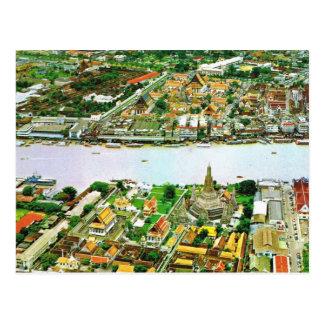 Cartão Postal Tailândia, Banguecoque, rio