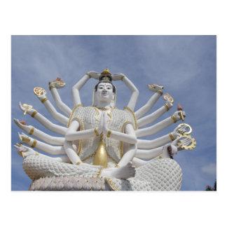 Cartão Postal Tailândia, Koh Samui de Ko Samui aka). Wat Plai 3