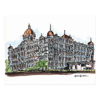 Cartão Postal Taj
