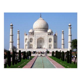 Cartão Postal Taj histórico Mahal, Agra, India