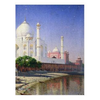 Cartão Postal Taj Mahal