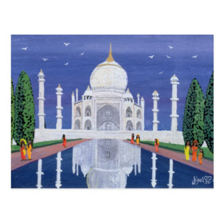 Cartão Postal Taj Mahal 1995