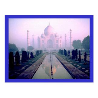 Cartão Postal Taj Mahal Agra India