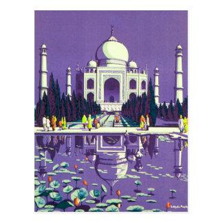 Cartão Postal ~ Taj Mahal de Agra