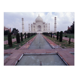 Cartão Postal Taj Mahal India