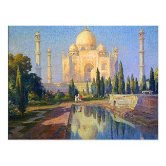 Cartão Postal Taj Mahal pelo tanoeiro
