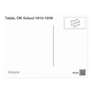 Cartão Postal Talala, escola APROVADA 1910-1939