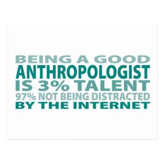 Cartão Postal Talento do antropólogo 3%